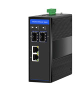 Industrial Ethernet Switch, 2 x 10/100/1000M Base-TX + Uplink 2 x 100/1000M Base-FX SFP