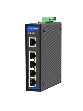 Industrial Ethernet Switch, 5 x 10/100/1000M Base-TX